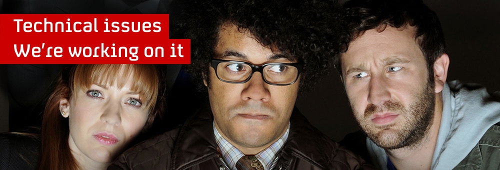Faces of members of the IT Crowd